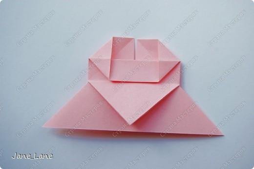 Закладка, Мастер-класс Оригами: Закладка для книги Бумага Начало учебного года. Фото 21