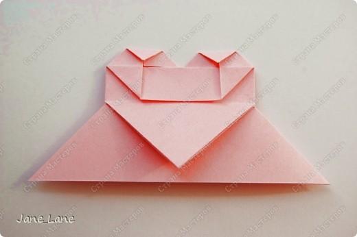 Закладка, Мастер-класс Оригами: Закладка для книги Бумага Начало учебного года. Фото 24