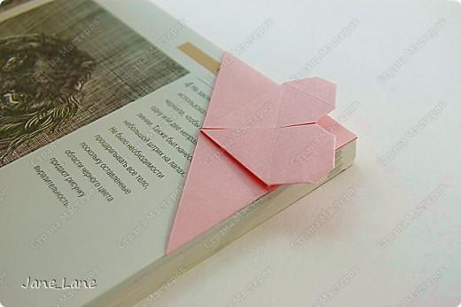 Закладка, Мастер-класс Оригами: Закладка для книги Бумага Начало учебного года. Фото 1