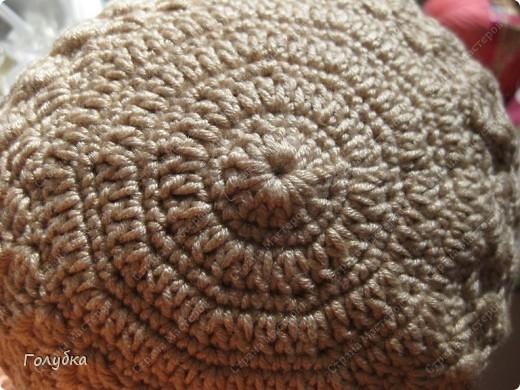 Гардероб, Мастер-класс Вязание крючком: Вяжем вместе: Кепочку Пряжа. Фото 4