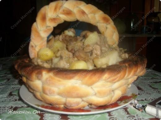 Кулинария, Мастер-класс,  Рецепт кулинарный, : Корзинка к обеду Продукты пищевые