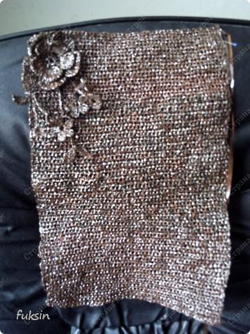 Украшение Вязание крючком: Сумка крючком из бросового материала Материал...