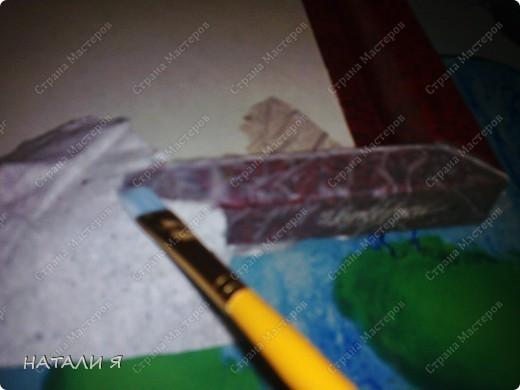 Декор предметов, Мастер-класс, Рамочки Вырезание силуэтное, Декупаж, : РАМОЧКА ДЛЯ КАРТИНЬІ (МК) Бумага, Картон, Коробки, Краска, Нитки . Фото 7