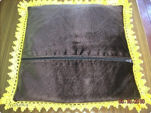 """Мастер-класс Шитьё: Подушка с буфами """"Плетенка"""" Нитки, Ткань. Фото 42"""