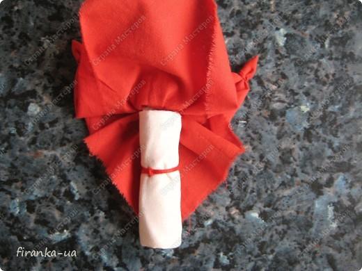 Куклы, Мастер-класс, Оберег: Пасхальная и Вербная куколки Ткань Пасха. Фото 12