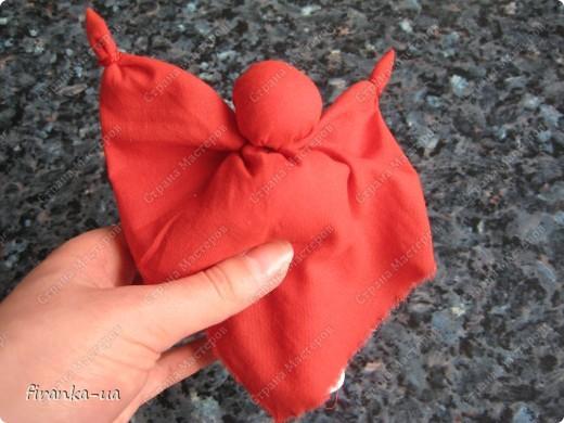 Куклы, Мастер-класс, Оберег: Пасхальная и Вербная куколки Ткань Пасха. Фото 14