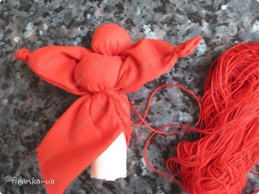 Куклы, Мастер-класс, Оберег: Пасхальная и Вербная куколки Ткань Пасха. Фото 15