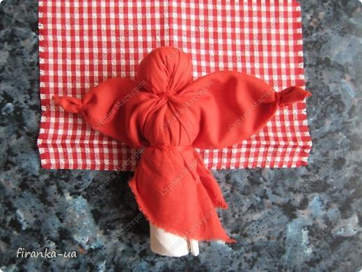 Куклы, Мастер-класс, Оберег: Пасхальная и Вербная куколки Ткань Пасха. Фото 16