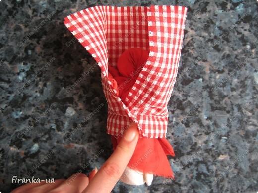 Куклы, Мастер-класс, Оберег: Пасхальная и Вербная куколки Ткань Пасха. Фото 17