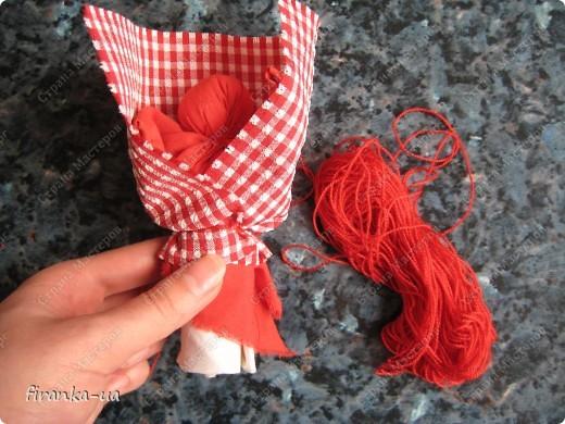 Куклы, Мастер-класс, Оберег: Пасхальная и Вербная куколки Ткань Пасха. Фото 18