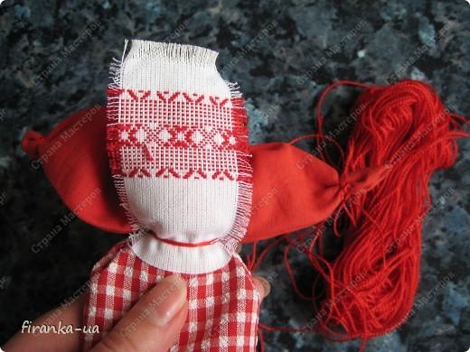 Куклы, Мастер-класс, Оберег: Пасхальная и Вербная куколки Ткань Пасха. Фото 20