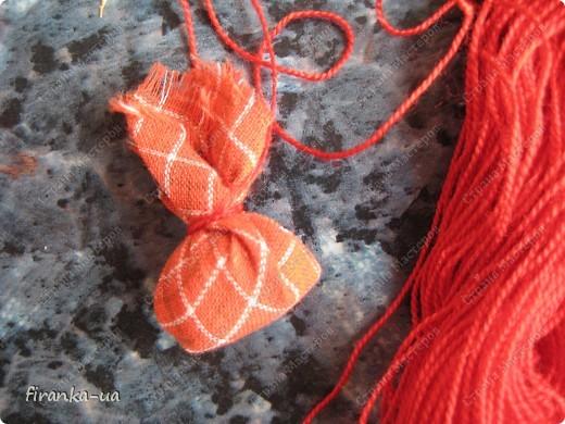 Куклы, Мастер-класс, Оберег: Пасхальная и Вербная куколки Ткань Пасха. Фото 25