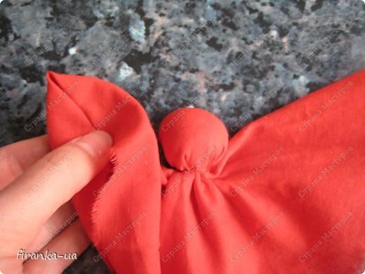 Куклы, Мастер-класс, Оберег: Пасхальная и Вербная куколки Ткань Пасха. Фото 10