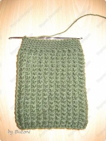 Гардероб, Мастер-класс,  Вязание крючком, : Теплые вязанные носочки! Пряжа . Фото 6