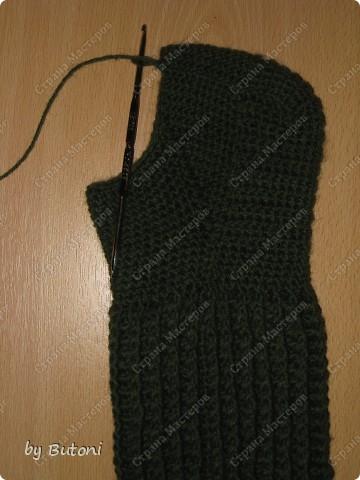 Гардероб, Мастер-класс,  Вязание крючком, : Теплые вязанные носочки! Пряжа . Фото 9
