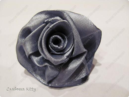 Мастер-класс: Роза из ленты 1. Это просто Ленты. Фото 1