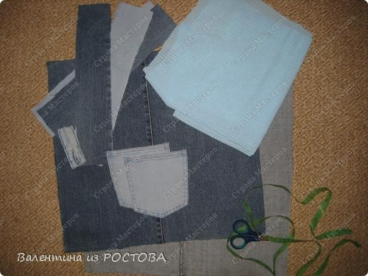 Мастер-класс,  Шитьё, : сумка для покупок Мк+много ссылок Ткань . Фото 2
