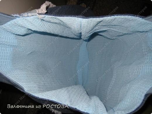 Мастер-класс,  Шитьё, : сумка для покупок Мк+много ссылок Ткань . Фото 10