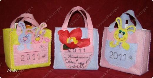 Мастер-класс,  Шитьё, : Подарочные сумочки эконом-класса Салфетки Новый год, . Фото 1