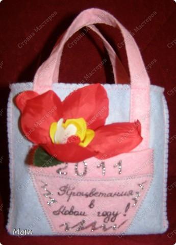Мастер-класс,  Шитьё, : Подарочные сумочки эконом-класса Салфетки Новый год, . Фото 12