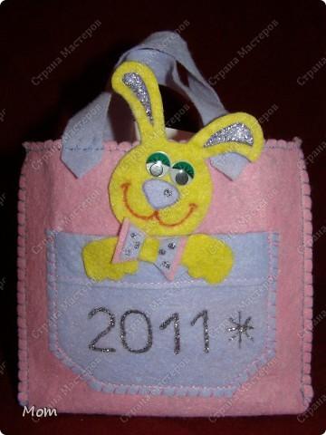 Мастер-класс,  Шитьё, : Подарочные сумочки эконом-класса Салфетки Новый год, . Фото 8