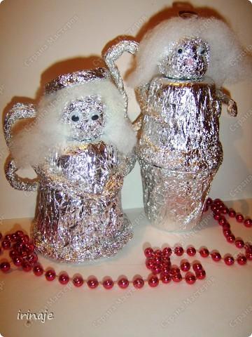 Колокольчики из пластиковых стаканчиков своими руками фото