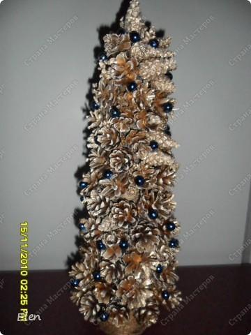 ... Роспись: новогодние поделки 3 Материал бросовый, Тесто соленое, Шишки