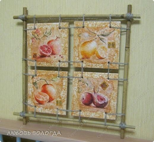Картина, панно Декупаж: панно на скорлупе. Фото 1