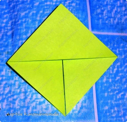 Мастер-класс, Поделка, изделие, Украшение Оригами, Оригами модульное, : С НАСТУПАЮЩИМ НОВЫМ ГОДОМ! МК ёлочки. Бумага Новый год, . Фото 6
