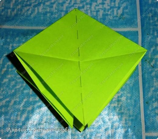 Мастер-класс, Поделка, изделие, Украшение Оригами, Оригами модульное, : С НАСТУПАЮЩИМ НОВЫМ ГОДОМ! МК ёлочки. Бумага Новый год, . Фото 8