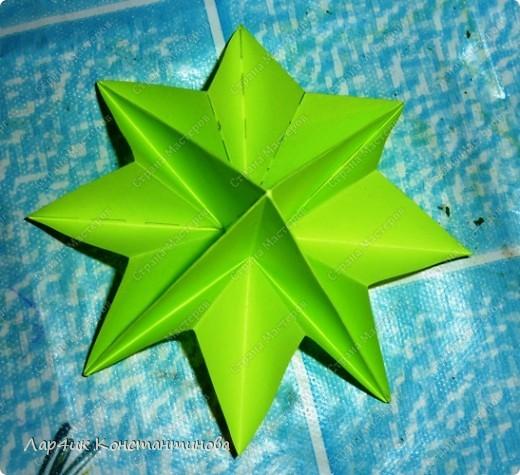 Мастер-класс, Поделка, изделие, Украшение Оригами, Оригами модульное, : С НАСТУПАЮЩИМ НОВЫМ ГОДОМ! МК ёлочки. Бумага Новый год, . Фото 14