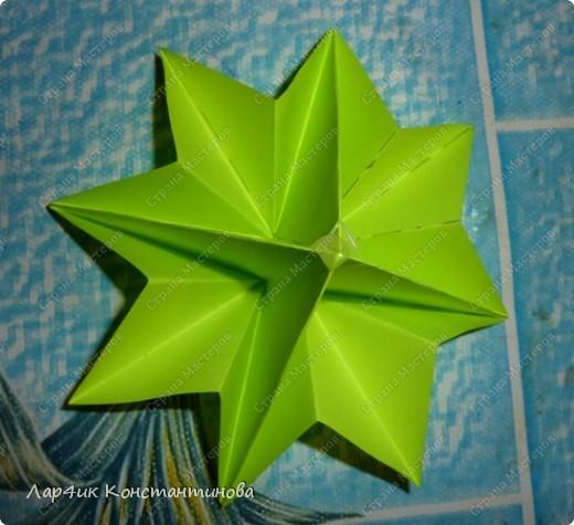 Мастер-класс, Поделка, изделие, Украшение Оригами, Оригами модульное, : С НАСТУПАЮЩИМ НОВЫМ ГОДОМ! МК ёлочки. Бумага Новый год, . Фото 16