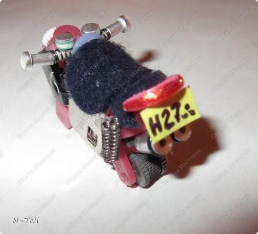 Сделать своими руками мотоцикл