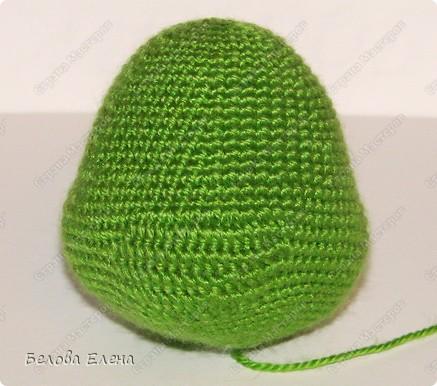 Размером получился поменьше, чем первый, без шляпы 24 см, со шляпой - 29 см.. Фото 5