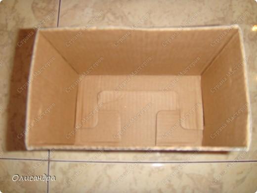 Декор предметов, Мастер-класс: Коробочка для бумаг.  Мастер-класс...Часть 1... Клей, Коробки, Материал бросовый, Пуговицы,  Скотч, Шпагат. Фото 4