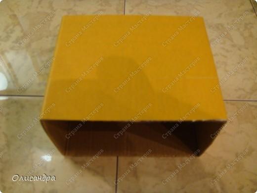 Декор предметов, Мастер-класс: Коробочка для бумаг.  Мастер-класс...Часть 1... Клей, Коробки, Материал бросовый, Пуговицы,  Скотч, Шпагат. Фото 8