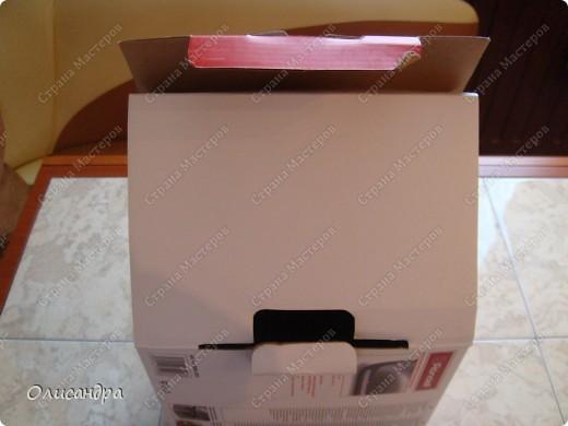 Декор предметов, Мастер-класс: Была бы коробочка... Мастер-класс.  Часть 1 Бумага, Картон, Клей, Коробки, Материал бросовый, Пряжа,  Пуговицы, Скотч. Фото 3