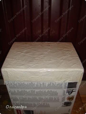 Декор предметов, Мастер-класс: Была бы коробочка... Мастер-класс.  Часть 1 Бумага, Картон, Клей, Коробки, Материал бросовый, Пряжа,  Пуговицы, Скотч. Фото 16