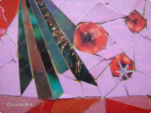 Очень хочу делать мозайку...Решила поучиться на обувной коробке, т.е. на том,что не жалко испортить.... Фото 6