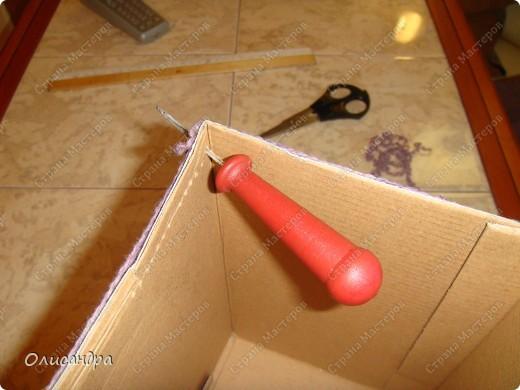 Декор предметов, Мастер-класс: Была бы коробочка...Мастер-класс.  Часть 2 Бумага, Картон, Клей, Коробки, Материал бросовый, Пряжа,  Пуговицы, Скотч. Фото 2