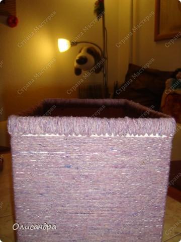 Декор предметов, Мастер-класс: Была бы коробочка...Мастер-класс.  Часть 2 Бумага, Картон, Клей, Коробки, Материал бросовый, Пряжа,  Пуговицы, Скотч. Фото 6