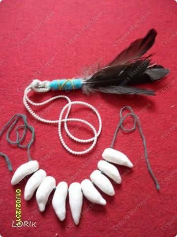Гардероб Вязание спицами: Костюм индейца Новый год. Фото 8