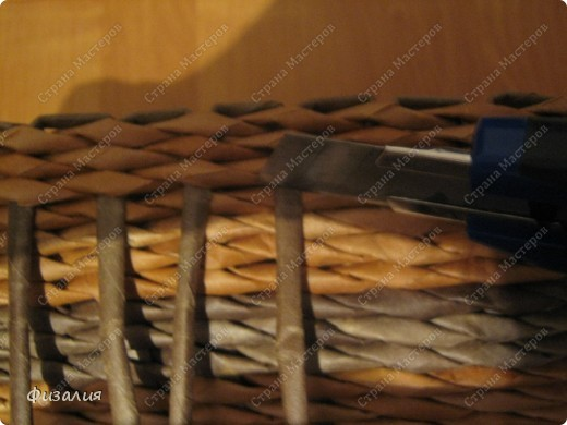 Мастер-класс, Поделка, изделие,  Декупаж, Моделирование, Плетение, : Шкатулка- 34 и МК по изготовлению шкатулки. Бумага газетная, Картон, Клей, Коробки, Краска, Салфетки, Шпагат Отдых, . Фото 13