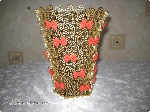 Поделка, изделие Моделирование: Необычная ваза 8 марта