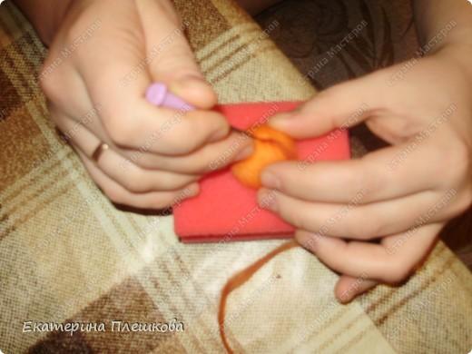 Мастер-класс, Фильдцевание, : МК по валянию. Спиралька на бусине. Шерсть . Фото 4