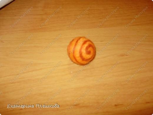 Мастер-класс, Фильдцевание, : МК по валянию. Спиралька на бусине. Шерсть . Фото 1
