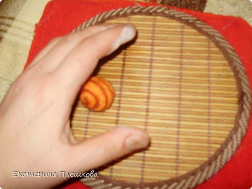 Мастер-класс, Фильдцевание, : МК по валянию. Спиралька на бусине. Шерсть . Фото 8