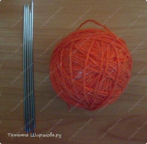 Мастер-класс Вязание спицами: Следки-тапочки... Шерсть День рождения. Фото 2
