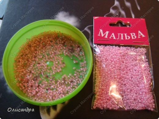 Master Class, Craft, gyöngyfűzés termék: Silver Sakura ...  MC ...  Gyöngyök, szálak, Wire.  7. fotó