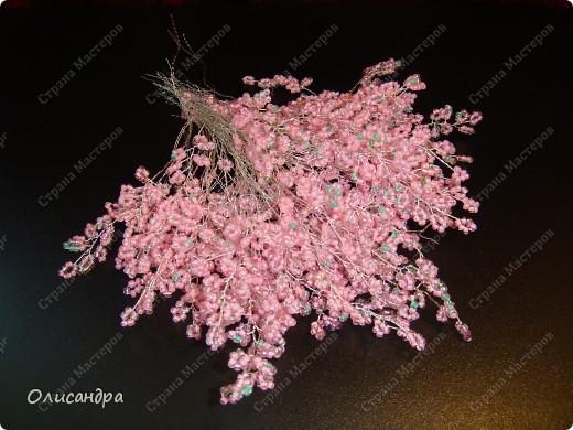 Master Class, Craft, gyöngyfűzés termék: Silver Sakura ...  MC ...  Gyöngyök, szálak, Wire.  11. kép
